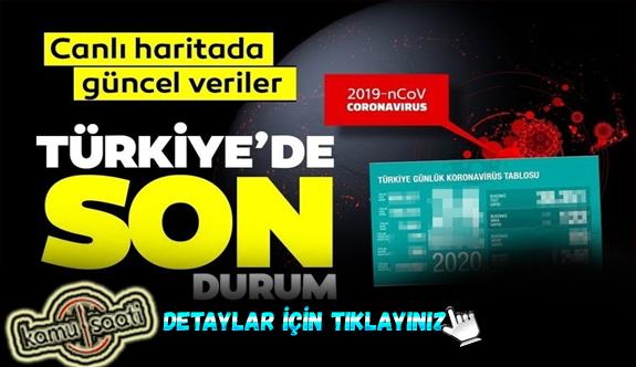 6 Haziran Cumartesi Korona virüs Türkiye'de Son Durum Vaka ve Ölüm Sayıları kaç? İşte Detaylar