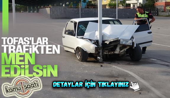 Adıyaman'da Çılgın Tofaşcı drifti kazayla sonuçlandı: 5 yaralı