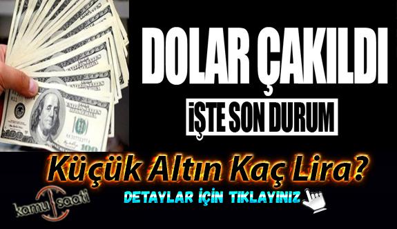 Dolar dibe vurdu! Küçük altın kaç lira oldu? 3 Haziran Çarşamba Döviz Kurları ve Altın Fiyatları