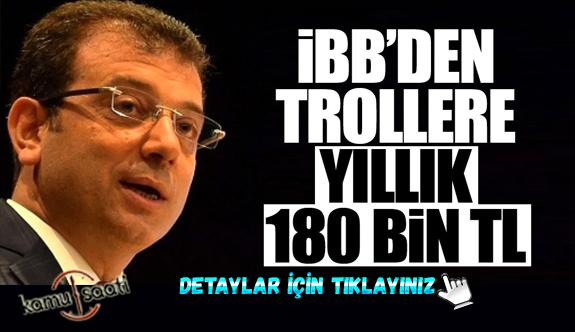 İBB trollere para yağdırmış! İmamoğlu'ndan Ses Yok