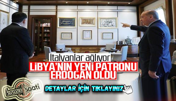 İtalyanın Gündem Manşeti Recep Tayyip Erdoğan artık Libya'nın yeni patronu