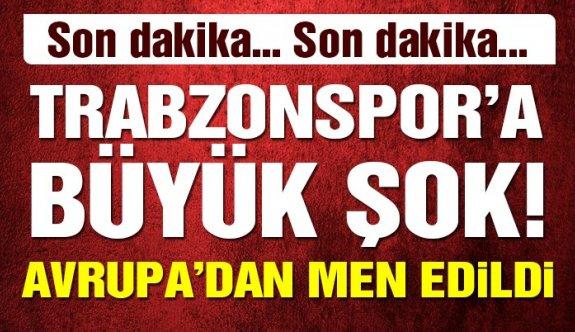 Trabzonspor Avrupa kupalarından UEFA'dan neden men edildi?