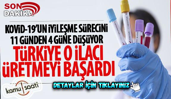 Türkiye o ilacı üretmeye başladı! Favipiravir Korona virüs iyileşme sürecini 11 günden 4 Güne İndiriyor