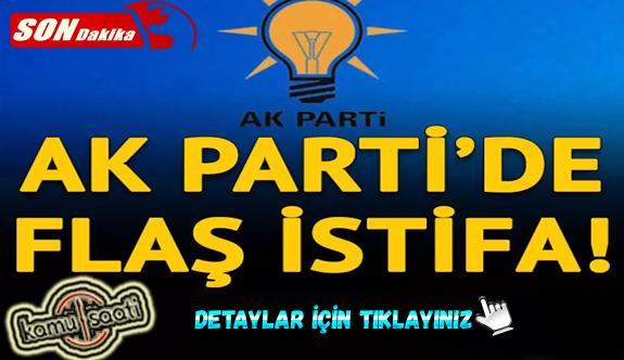 AK Parti Elazığ İl Başkanı Ramazan Gürgöze istifa etti