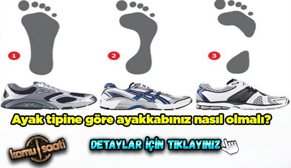 Ayak tipine göre ayakkabınız nasıl olmalı?