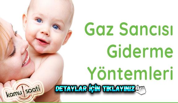 Bebeklerde gaz problemini çözmenin 10 yöntemi