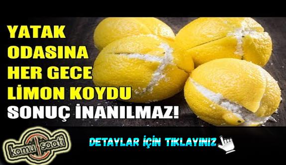 Limonu tuzlayıp başucuna koymanın faydalarına şaşıracaksınız!