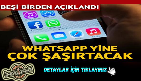 Whatsapp'taki bu yeni özelliklere çok şaşıracaksınız! Gelişmiş video...