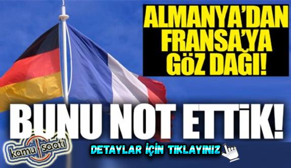 Almanya'dan Fransa'ya gözdağı! Almanya Türkiye ile Birlikte Olacak Mı?