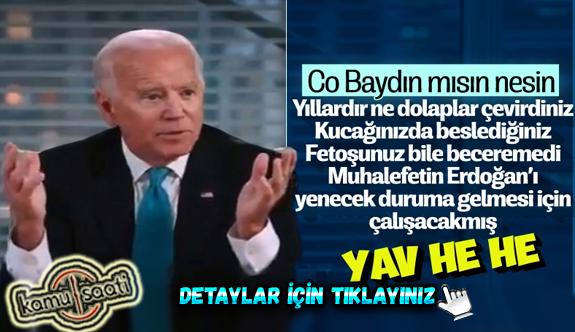 Biden'dan Erdoğan'a karşı Türkiye'deki muhalefete destek