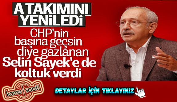 Chp Genel Başkanı Kemal Kılıçdaroğlu'nun 16 kişilik MYK'sı belli oldu