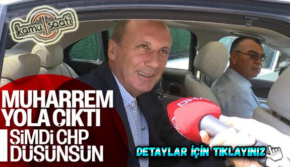CHP'li Muharrem İnce, perşembe günü konuşacak