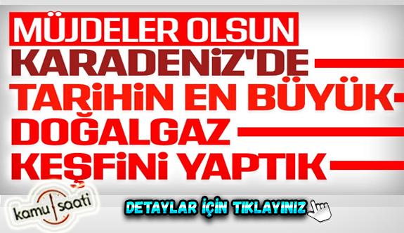 Cumhurbaşkanı Erdoğan, beklenen tarihi müjdeyi açıkladı