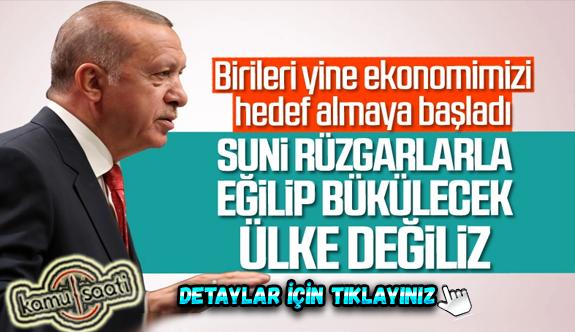Cumhurbaşkanı Erdoğan, ekonomik gelişmeleri değerlendirdi