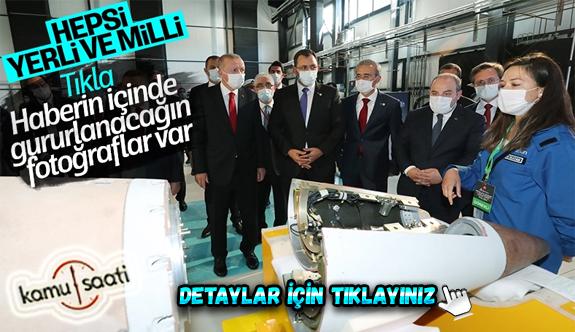 Cumhurbaşkanı Erdoğan Roketsan'da: Artık uzay ligindeyiz