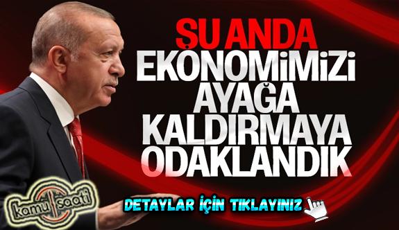 Erdoğan: Haklarımızı sonuna kadar korumaya odaklandık