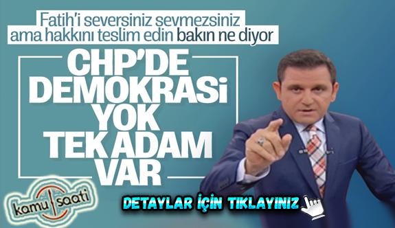 Fatih Portakal'dan CHP'ye Muharrem İnce tepkisi