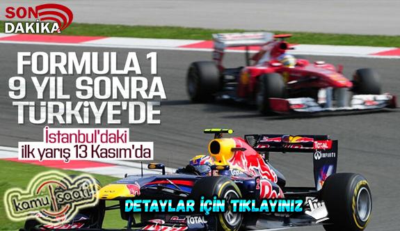 Formula 1, İstanbul'a geri döndü