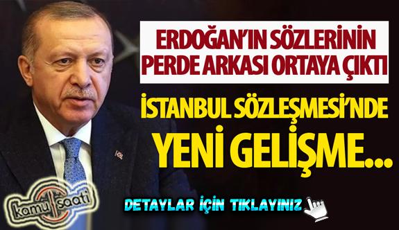 İstanbul Sözleşmesi ile ilgili yeni gelişme!