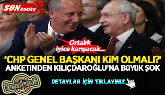 """Optimar'ın son anketinde ezber bozan sonuçlar! """"CHP Genel Başkanı kim olmalı?"""" sorusunda İnce sürprizi"""
