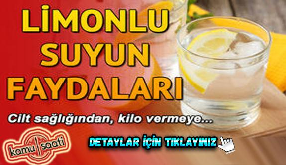 Sabahları kahve yerine bir fincan sıcak limon suyu şifa oluyor