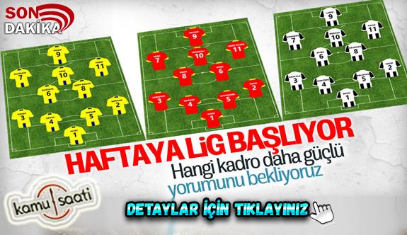 2020-2021 sezonu Süper Lig 11 Eylül Cuma günü başlayacak