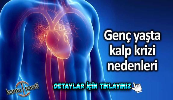 8 madde ile genç yaşta kalp krizi belirtileri