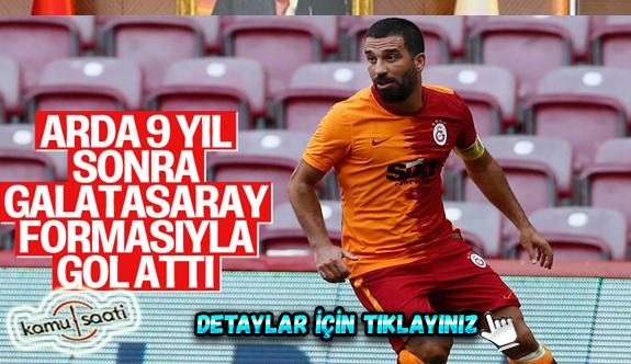 Arda Turan, Galatasaray'a golle döndü
