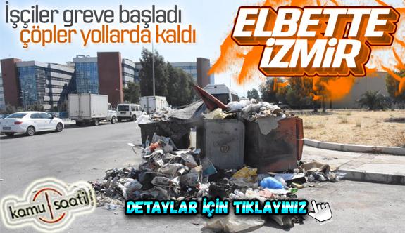 Çöplerin toplanmadığı Çiğli'de esnaf fare kovaladı