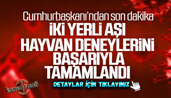 Cumhurbaşkanı Erdoğan: Koronavirüs yeniden artışa geçti