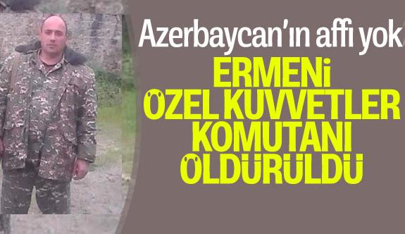 Ermeni komutan etkisiz hale getirildi