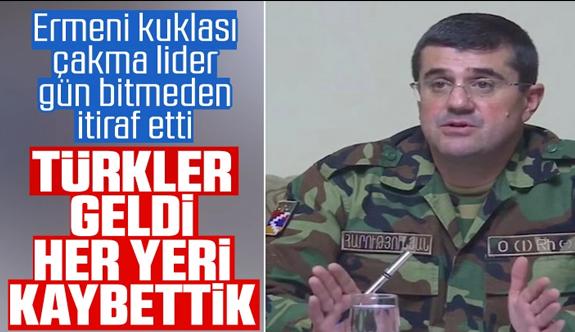 Ermenistan işgalindeki Karabağ'ın sözde lideri: Her yeri kaybettik