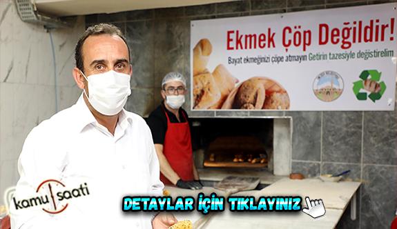 İncesu Belediyesi Ekmek israfına taze ekmekli çözüm üretti İşte Başkan Mustafa İlmek'in Açıklamaları