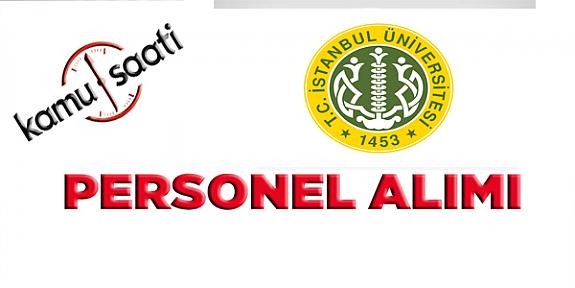 İstanbul Üniversitesi Öğretim Üyesi Alım İlanı  iş ilanları iş başvurusu nasıl yapılır ve iş başvuru formu