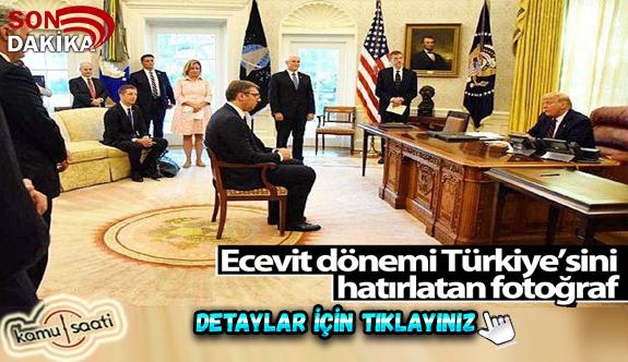 Kosova - Sırbistan anlaşmasından dikkat çeken fotoğraf