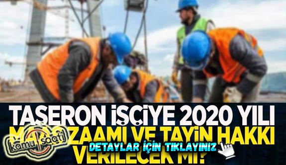 Kritik süreç! Taşeron 4D'li işçilere yüzdelik dilim düzenlemesiyle asgari ücret maaş zam ayarı! İşte taşerona yeni mali haklar