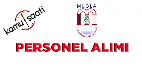 Muğla Sıtkı Koçman Üniversitesi sözleşmeli personel Alımı yapacak iş ilanları iş başvurusu ve başvuru formu