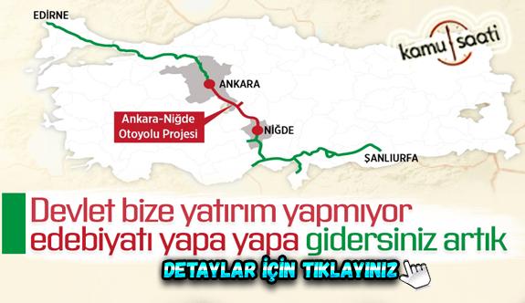 Şanlıurfa'dan Edirne'ye kadar kesintisiz ulaşım sağlacanak