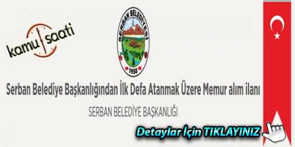 Serban Belediyesi Memur alım ilanı İş ilanları Personel alımı ve başvuru formu