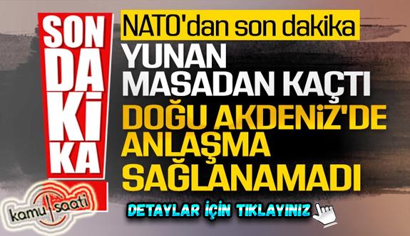 Stoltenberg: Türkiye - Yunanistan görüşmeleri başladı