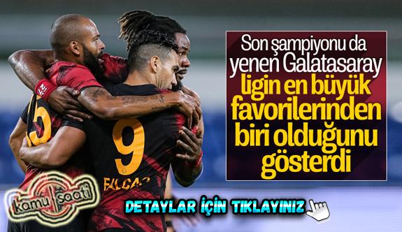 Süper Lig'in 2. haftasında Galatasaray son şampiyon Başakşehir'i devirdi
