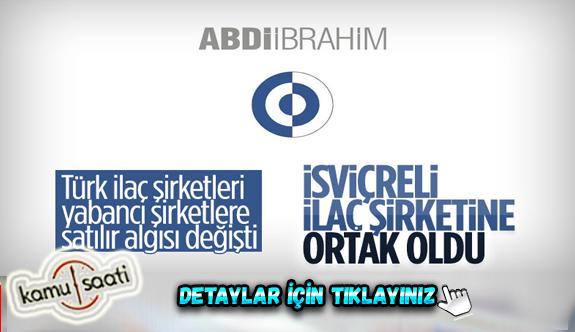 Türk İlaç Devinden  Şok Hamle! Abdi İbrahim, İsviçreli OM Pharma'ya ortak oldu