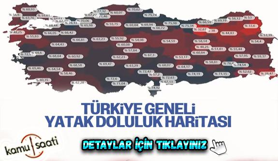 Türkiye'de hastanelerdeki yatak doluluk oranları