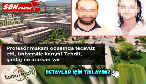 Üniversiteyi karıştıran iddia! Makam odasında profesörün tecavüzüne uğradığını iddia eden akademisyen suç duyurusunda bulundu
