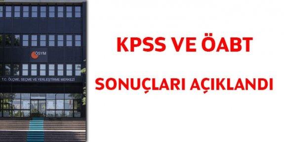 2020 KPSS ve ÖABT sonuçları açıklandı
