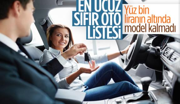 2020 yılında Türkiye'de satılan en ucuz sıfır otomobiller