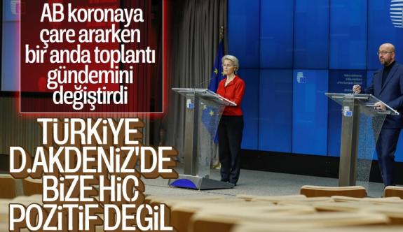 AB: Türkiye pozitif gündem için çalışmıyor