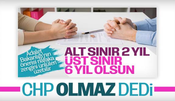 Adalet Bakanlığı'nın nafaka ödemeleri için süre önerisine CHP karşı çıktı