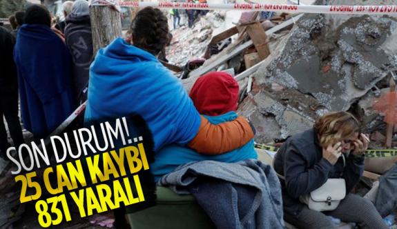 AFAD Şimdi Açıkladı! İzmir'deki depremde hayatını kaybedenlerin sayısı
