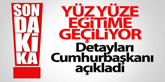Cumhurbaşkanı Erdoğan'ın kabine toplantısı sonrası açıklamaları